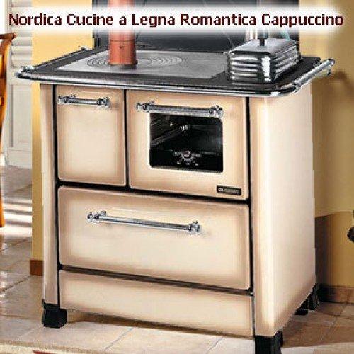 Cucina A Legna Nordica Romantica 4 5.Otopitelno Varochnaya Pech La Nordica Romantica 4 5
